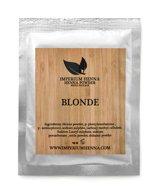 Blond Re-Fill Package 10g. (Imperium Henna)
