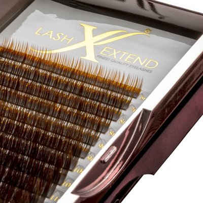Ombre Lashes Brown/Black