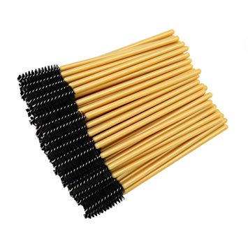 Gold/Black Mascara Brush (20st)