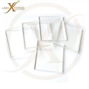 glasplaatjes wimperextemsions