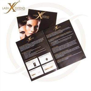 informatie brochure wimperextensions