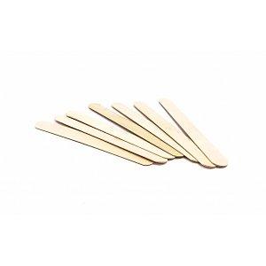 Houten Wax Spatels Groot (100 stuks)
